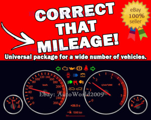 Correct That Mileage odometer Correction Software s Pack