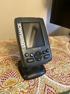 LOWRANCE MARK 4 HDI FISH / DEPTH  FINDER & CHARTPLOTTER 000-11215-001 BOAT