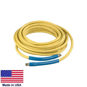 Pressure Washer Hose 100 4 000 Psi 3 8 Fittings