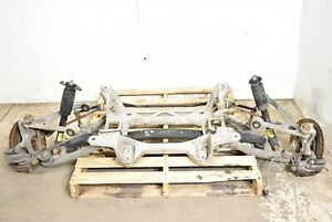 05 08 Corvette C6 Rear Independent Suspension With Cradle Control Arms Aa6634