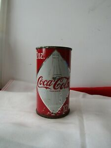 1960's VTG. Coca Cola Diamond Coke Can  USA  Atlanta Georgia (Flat Top) D844