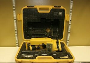 Topcon Dt 209 Optical Digital Theodolite W Free Carrying Case Dt 200