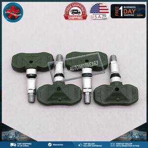 New 315mhz For Gm Tire Pressure Sensor Set 4 Tpms For Gmc Chevy Hummer 15122618