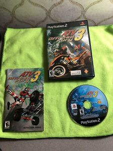 ATV Offroad Fury 3 Sony PlayStation 2 2004 PS2 (CIB/Tested/MINT/Black Label)