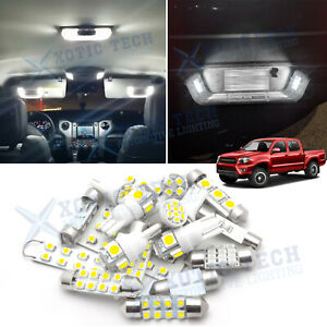 Led Interior Dome Map Backup Reverse Light Pkg Kit For Toyota Tacoma 2005 2015