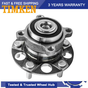 Timken Ha590202 Rear Wheel Bearing Hub Assembly Left Or Right For Tsx Accord