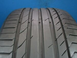 Used Continental Contisportcontact 5 Ssr Suv 315 35 20 8 9 32 High Tread 1287f