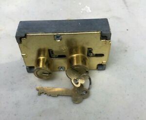 Diebold 17570 Safe Deposit Box Locks with Keys 17570 Left Hand Lot Of 10