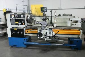 2005 Summit 24 X 60 Gap Bed Engine Lathe Dro 3 4 Jaw