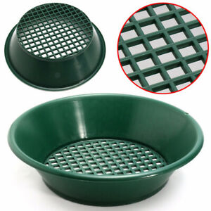 Gold Pan Panning Classifier Mesh Screen Mining Sifter Metal Detecting Green Tool
