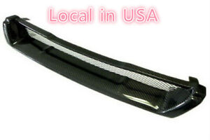 For Nissan Skyline R33 Gtst gtr style Carbon Fiber Front Grill gts Only Mesh