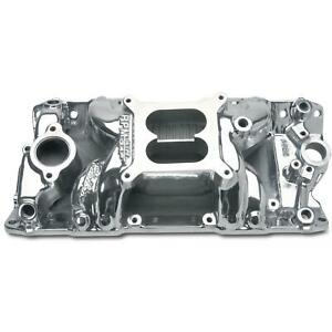 Edelbrock 75011 Rpm Air Gap Intake Manifold Small Block Chevy