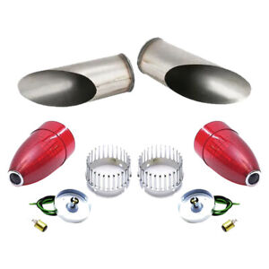 1959 Cadillac Blue Dot Taillight Kit W Frenching Buckets