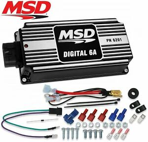 Msd 62013 6a Ignition Control Box Digital Multiple Spark