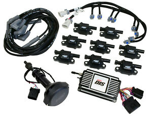 Msd 601533 Black Direct Ignition System Controller Kit Small Block Ford 351w