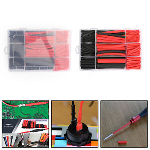 270pcs 3 1 Waterproof Dual Wall Adhesive Heat Shrink Wire Heatshrink Tubing Kits