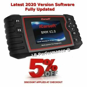 Icarsoft Bmw V2 0 Diagnostic Scan Tool Latest 2020 Software Extra Features