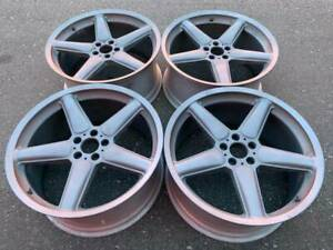 Set Of Ultra Rare Genuine Bmw 22 Ac Schnitzer Type2 Rims In Excellent Cond