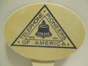 Car License Topper Telephone Pioneers Of America Nos