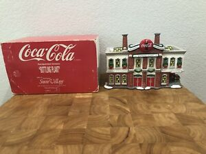 Dept 56 Snow Village Coca-Cola Bottling Plant 56.54690