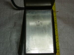 K75 40b 1600v 100uf High Voltage Huge Capacitor Pulsed Discharge Pro Rare Used