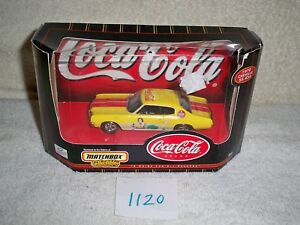 Matchbox Collectibles 1:43 Scale Coca Cola 1970 Chevell SS 454 #96553
