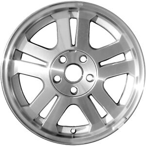 03649 Refinished Ford Mustang 2005 2008 17 Inch Wheel Rim Oe Machined W silver