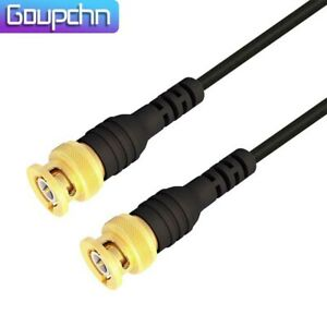 Goupchn Bnc Male To Male Plug Gold Plated Oscilloscope Test Probe Lead Cable