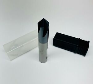 Chamfer End Mill Carbide 14mm 90deg Tialn Coated 4flute Single End Mk tools