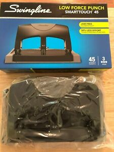 Swingline Smarttouch Low Force Punch smarttouch 45 3 hole Punch 45 Sheet new