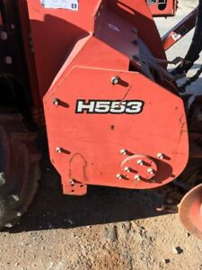 2007 Ditch Witch H 553 Trencher For Rt55