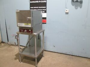 southbend R 2 Hd Commercial nsf 208v Dual Phase Electric Steamer Oven W stand