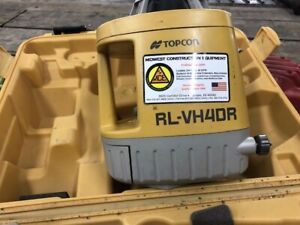 Topcon Rotary Visible Red Beam Laser rlvh4dr 4 Available