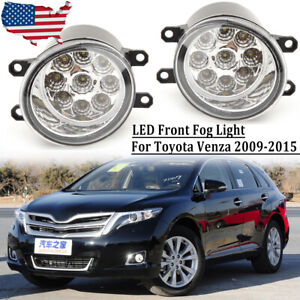 Led Fog Light For Toyota Venza 2009 2015 Replacement Front Bumper Lamp Driving