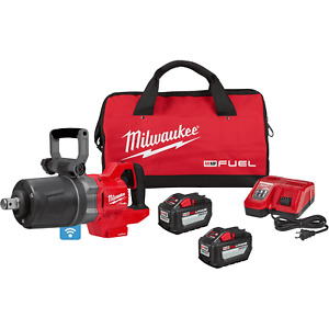 Milwaukee Electric 2868 22hd M18 1 Drive D Handle Cordless Impact Wrench Kit