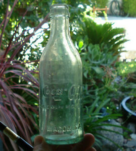 Early collectible Coca-Cola bottle embossed MACON  Georgia