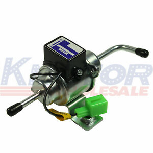 Fuel Pump 12v Universal Low Pressure Gas Diesel Electric 1 4 Tubing 3 5 Psi