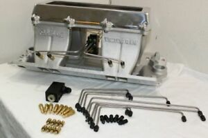 Edelbrock Sb Chevy 7070 Tunnel Ram Set For Injection Lines Nozzles Bodies