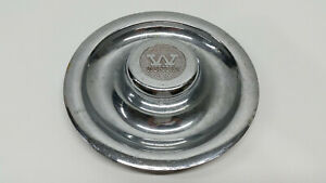Vintage Chrome Western Wheel Center Hub Cap Hubcap Cover