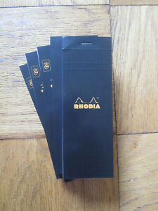 Bloc Rhodia No 8 Graph Ruled List Pads