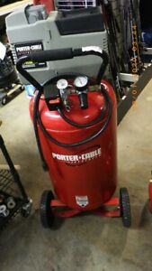 Porter Cable Cpf6025vp 135 Psi 25 Gal 6hp local Pick Up tdw008129