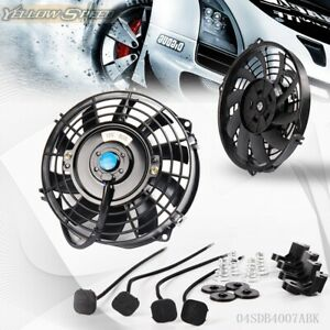 Universal 7 12 V 80w Pull Push Racing Radiator Engine Electric Cooling Fan Kit