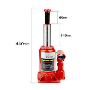 20 Ton Hydraulic Bottle Jack Suv Truck Auto Automotive Shop Lift Tool Steel Red