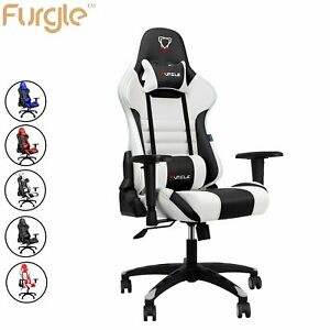 Pc Gaming Chair Big And Tall Office Chair 330lb Wide Seat Ergonomic Racing Chair