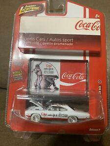 Johnny Lightning 2007 WHITE LIGHTNING Coca Cola 1970 Dodge Superbee