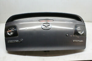 2008 Mazda 3 Rear Cargo Trunk Lid Gray 32s Oem 04 05 06 07 08 09