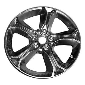 02519 Oem Reconditioned Aluminum Wheel 19x7 Fits 2015 18 Dodge Journey smoked