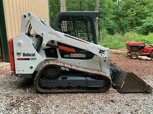 2016 Bobcat T590 Tier4 Machine Orops 2125 Hrs New Tracks Ready For Work nice