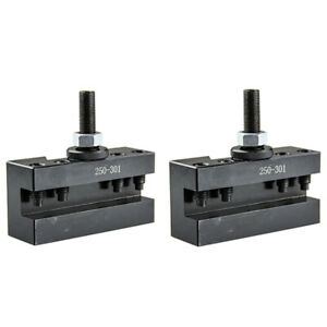 All Industrial 2 Pack Cxa 1 Quick Change Turning Facing Lathe Tool Holders