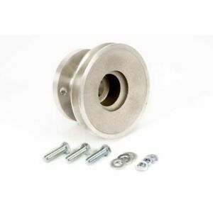 Moroso 64120 Cast Aluminum Crankshaft Pulley For 69 Up Chevy 302 350 New